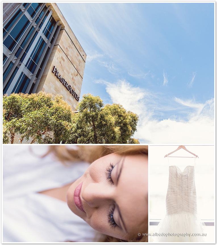Frasers Suites Perth Wedding