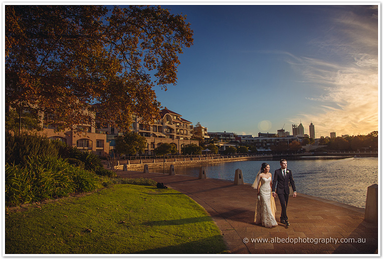 East Perth Wedding